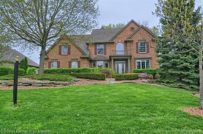 Northville Single Family Home For Sale: 15260 Merion Court