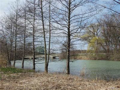 Grosse Ile, Gross Ile, Grosse Ile Twp Residential Lots & Land For Sale: Waterway