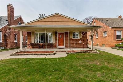 Dearborn Single Family Home For Sale: 1321 Drexel Street