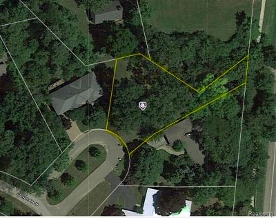 West Bloomfield Twp Residential Lots & Land For Sale: 2360 Scotch Pine Drive