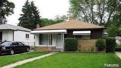 Dearborn Single Family Home For Sale: 4475 Weddell Street