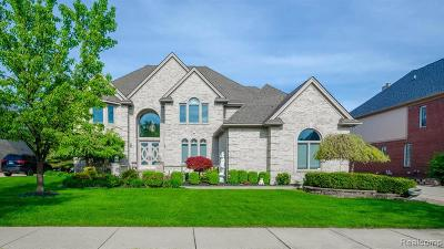 Shelby Twp Single Family Home For Sale: 54296 Salem Drive