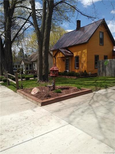 Imlay City MI Single Family Home For Sale: $139,500