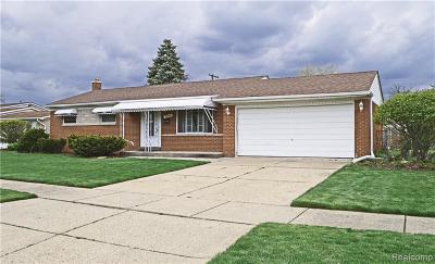 Taylor Single Family Home For Sale: 23042 Livingston Street