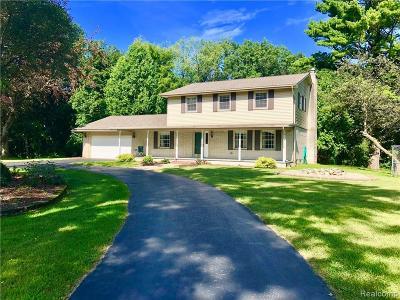 Washington Twp Single Family Home For Sale: 4641 West Road