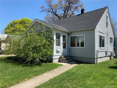 Hazel Park Single Family Home For Sale: 23704 Easterling Avenue