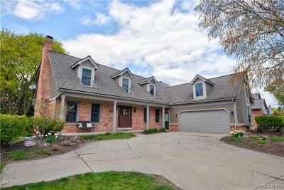 Rochester Hills Single Family Home For Sale: 2412 Munster Road