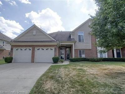 Shelby Twp Condo/Townhouse For Sale: 3695 Eagle Creek Drive