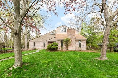 Grosse Ile, Gross Ile, Grosse Ile Twp Single Family Home For Sale: 9168 Bellevue Road
