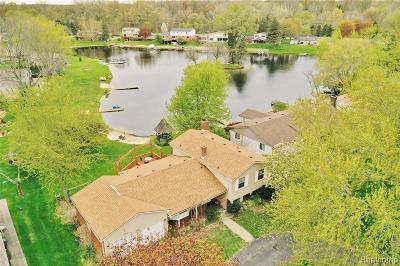 White Lake Single Family Home For Sale: 6522 Ellinwood Drive