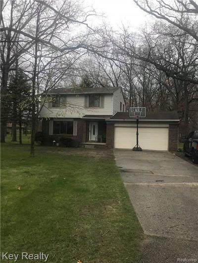 Huron Twp Single Family Home For Sale: 30440 W Huron River Drive
