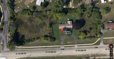 Oakland County Residential Lots & Land For Sale: 42000 W 13 Mile Road