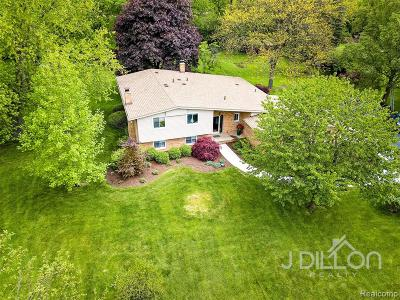 Canton Single Family Home For Sale: 41950 Woodbrook Drive