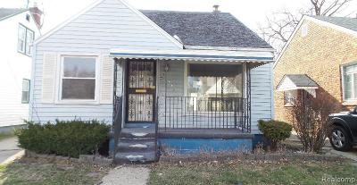 Detroit Single Family Home For Sale: 15487 Marlowe