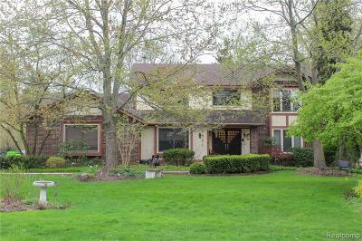 West Bloomfield Twp Single Family Home For Sale: 2831 Baltane Road