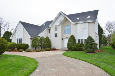 Grosse Ile Twp Single Family Home For Sale: 8992 Marquette Drive