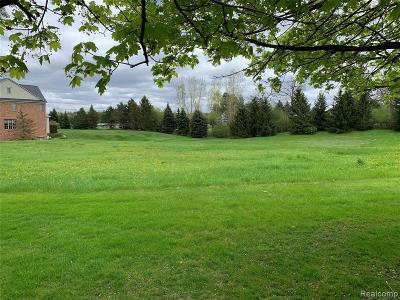Bloomfield Hills Residential Lots & Land For Sale: 502 Chase Lane