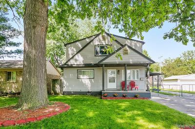 Dearborn Heights Single Family Home For Sale: 18012 Colgate Street
