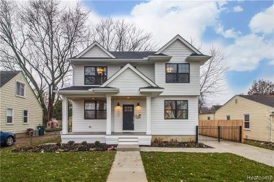 Royal Oak Single Family Home For Sale: 613 Golf Avenue