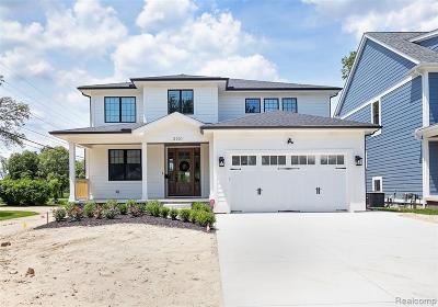 royal oak Single Family Home For Sale: 324 W Houstonia Avenue