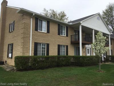 Sterling Heights Condo/Townhouse For Sale: 11845 Ina Drive
