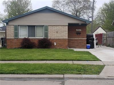 Allen Park Single Family Home For Sale: 5863 Balfour Avenue