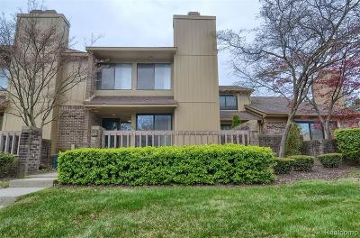 Bloomfield Twp Condo/Townhouse For Sale: 1706 S Hill Boulevard
