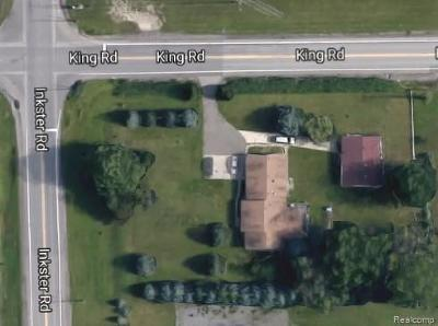 Allen Park, Lincoln Park, Southgate, Wyandotte, Taylor, Riverview, Brownstown Twp, Trenton, Woodhaven, Rockwood, Flat Rock, Grosse Ile Twp, Dearborn, Gibraltar Single Family Home For Sale: 21033 Inkster Road
