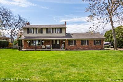 Oxford Single Family Home For Sale: 1867 Harwood Drive