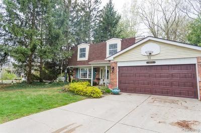 Plymouth Single Family Home For Sale: 8801 Mayflower Drive