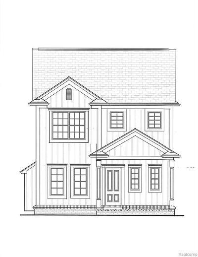 Berkley Single Family Home For Sale: 3242 Phillips (Lot A) Avenue
