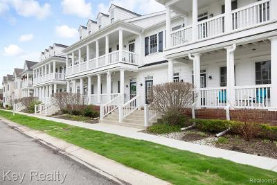Canton, Canton Twp Condo/Townhouse For Sale: 50197 Monroe Street