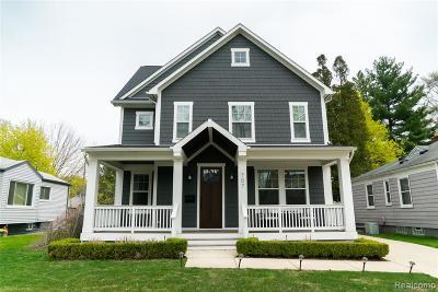 Royal Oak Single Family Home For Sale: 707 S Altadena