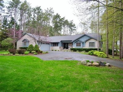 Commerce Twp Single Family Home For Sale: 8450 Pine Cove Drive