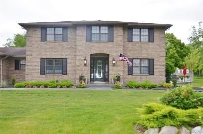 Grosse Ile Twp MI Single Family Home For Sale: $459,000