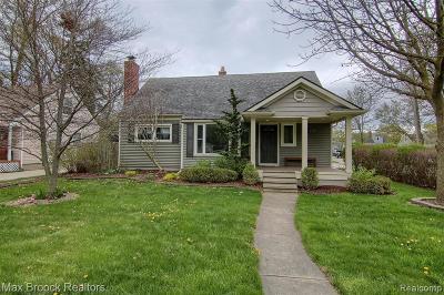 Royal Oak Single Family Home For Sale: 3431 Normandy Road