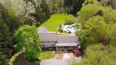 Bingham Farms Vlg Single Family Home For Sale: 32628 Bingham Lane