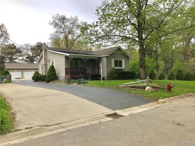 Wixom Single Family Home For Sale: 3395 Theodore E