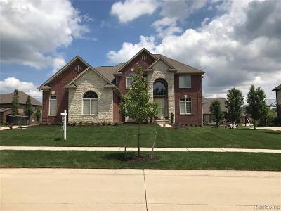 Shelby Twp MI Single Family Home For Sale: $519,000