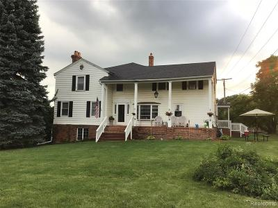 Plymouth Single Family Home For Sale: 13401 N Beck Road