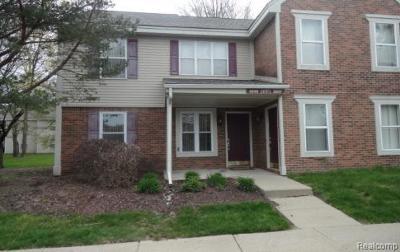 Rochester Hills Condo/Townhouse For Sale: 1656 Emerson Circle #6