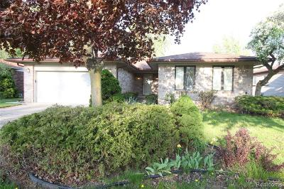 Sterling Heights Single Family Home For Sale: 38350 Lincolndale Drive
