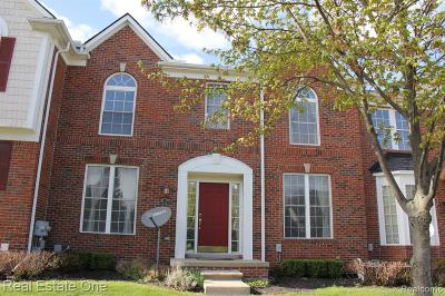 Novi Condo/Townhouse For Sale: 41706 Brownstone Drive