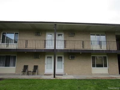 Plymouth MI Condo/Townhouse For Sale: $100,000