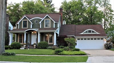 Birmingham Single Family Home For Sale: 1367 Villa Road