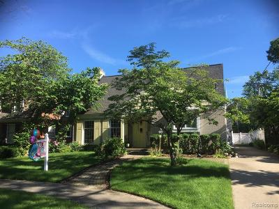 Allen Park, Lincoln Park, Southgate, Wyandotte, Taylor, Riverview, Brownstown Twp, Trenton, Woodhaven, Rockwood, Flat Rock, Grosse Ile Twp, Dearborn, Gibraltar Single Family Home For Sale: 22364 Long Boulevard