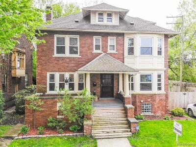 Detroit Single Family Home For Sale: 941 Ashland Street