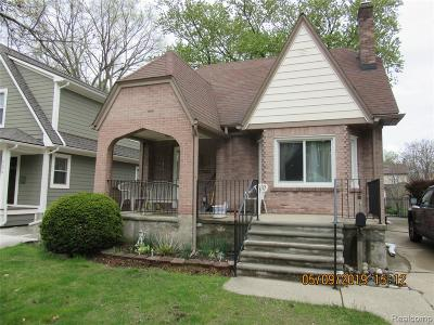 Royal Oak Single Family Home For Sale: 122 N Vermont Ave Avenue