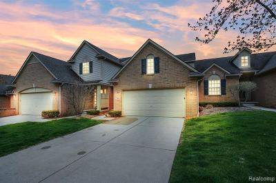 White Lake, White Lake Twp Single Family Home For Sale: 1352 Waverly Drive