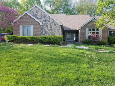 Plymouth Single Family Home For Sale: 48940 Pinehill Drive